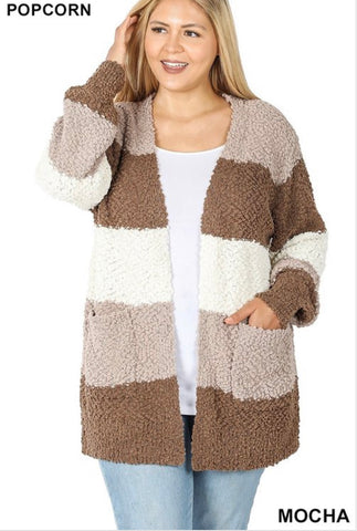 Lost In Your Eyes Curvy Cardi