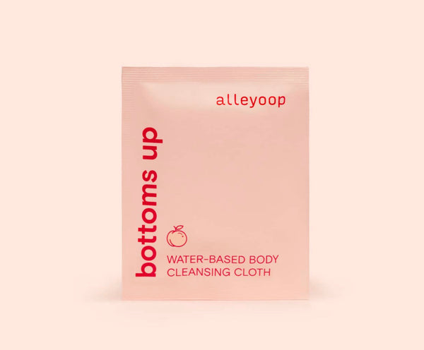Bottoms Up- Water-Based Body Cleansing Cloths
