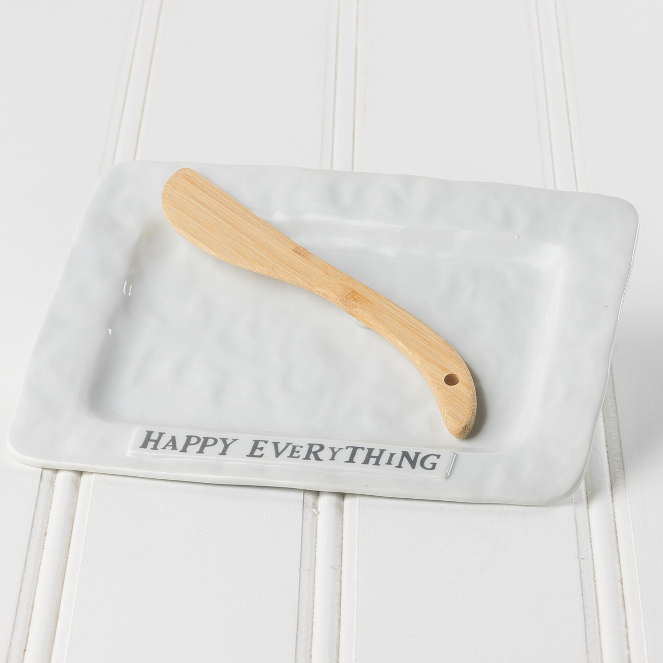 Happy Everything Plate with Spreader