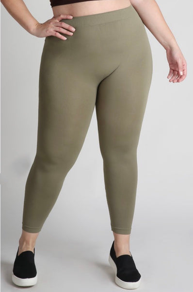One Size Fits All Ankle Leggings