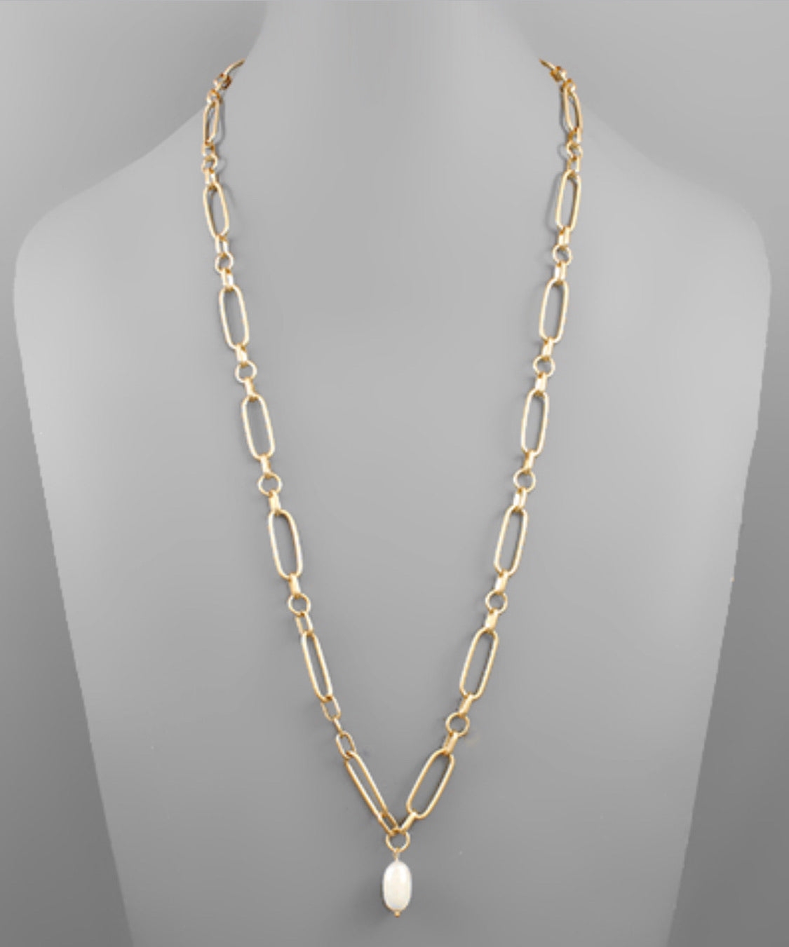 Freshwater Pearl Chain Necklace