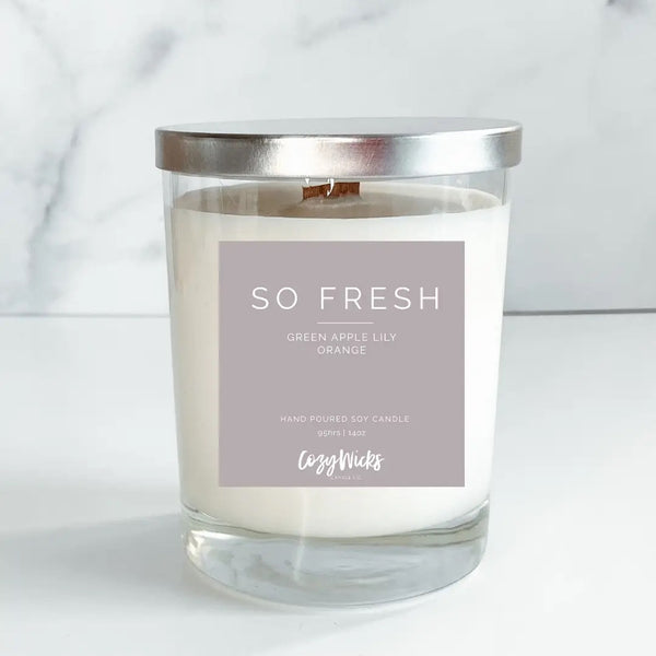 Cozy Wick 14oz Soy Candle