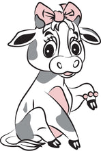 Dairy Cow Greeting Cards
