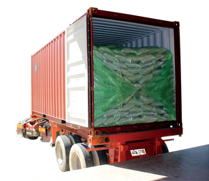 TranSafeliner loaded in shipping container