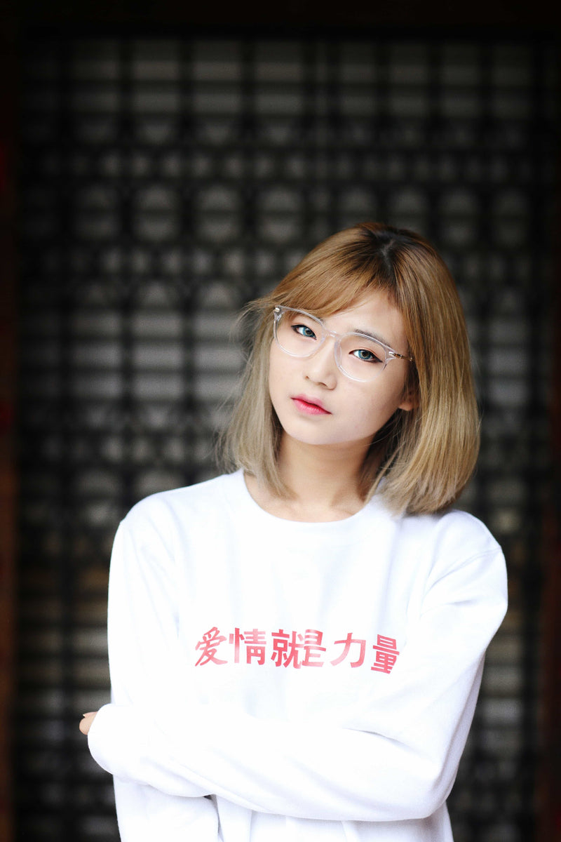 TRENDFORTT 爱情就是力量 SWEATER - Ohnii Official Site
