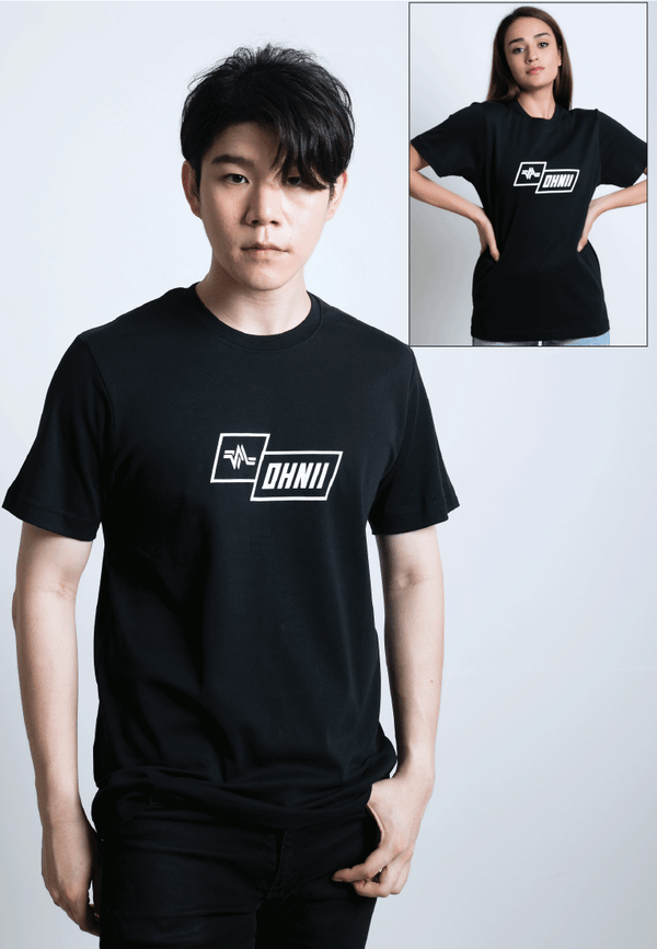 LOGO PRINT COTTON JERSEY T-SHIRT - Ohnii Official Site