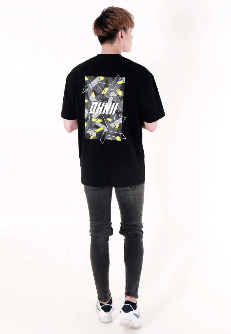 OVERSIZED LOGO CAMO PRINT COTTON JERSEY T-SHIRT - Ohnii Official Site