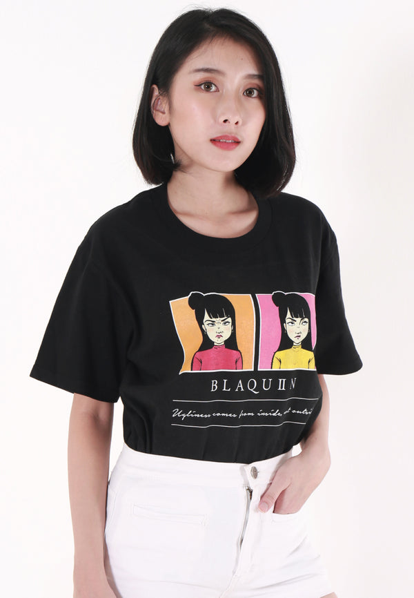 BLAQUIIN GRIMACE GRAPHIC TEE - Ohnii Official Site
