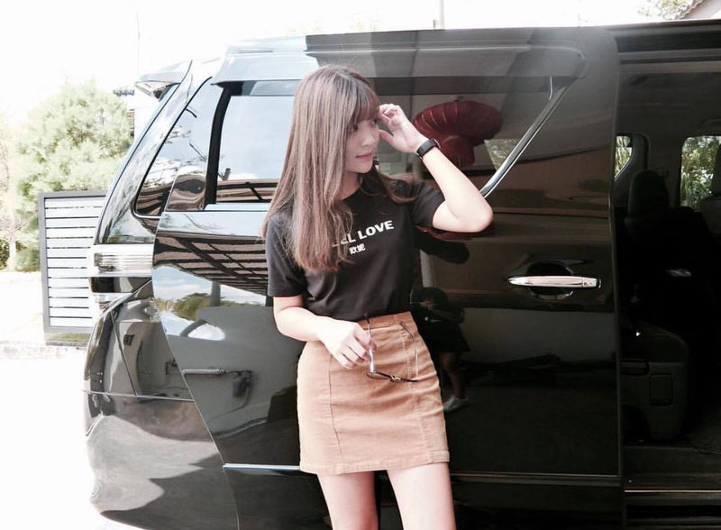 TRENDFORTT I FEEL LOVE Women CROP TOP - Ohnii Official Site