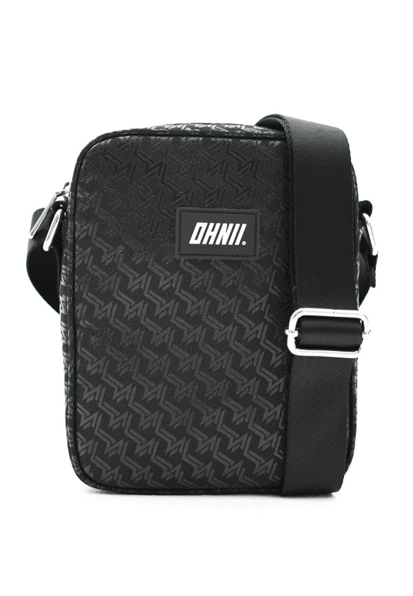 MONOGRAM PRINT NYLON CROSSBODY BAG - Ohnii Official Site