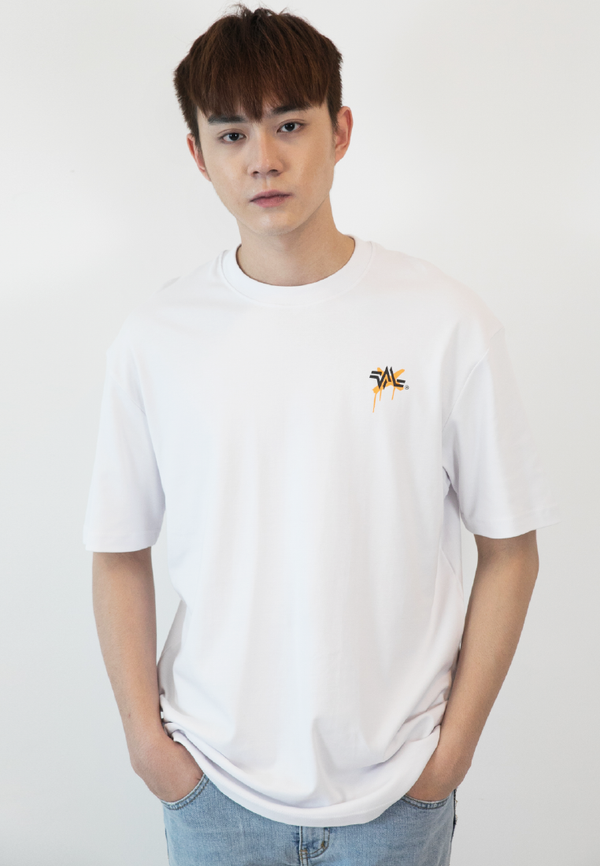OVERSIZED HATERS GONNA HATE PRINT COTTON JERSEY TSHIRT (WT) - Ohnii Official Site