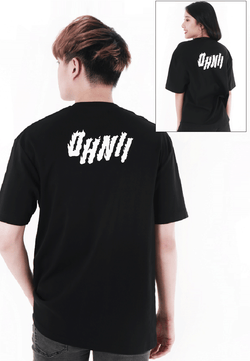 OVERSIZED LOGO FLAME PRINT COTTON JERSEY TSHIRT V2