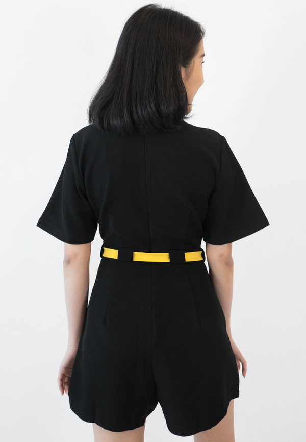 BLAQUIIN Customade Tailored Highwaisted Women Playsuit - Ohnii Official Site