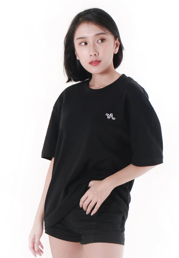 OVERSIZED EMBROIDERED LOGOMARK COTTON JERSEY T-SHIRT - Ohnii Official Site