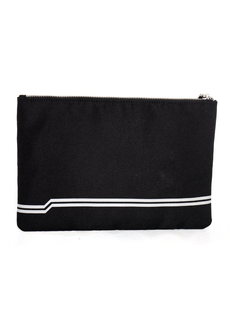 LOGOMARK PRINT ZIP POUCH (REFLECTIVE) - Ohnii Official Site