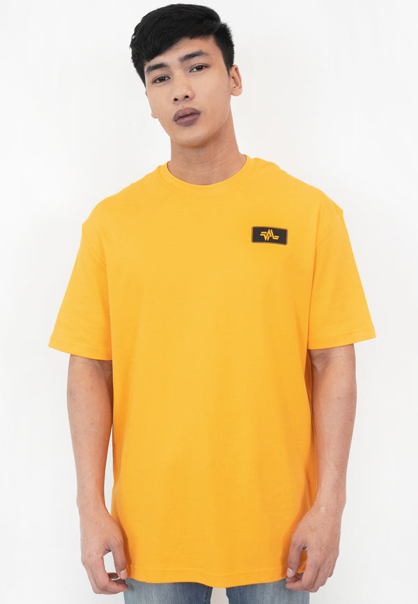 OVERSIZED CAR PLATE COTTON JERSEY TSHIRT (YL)