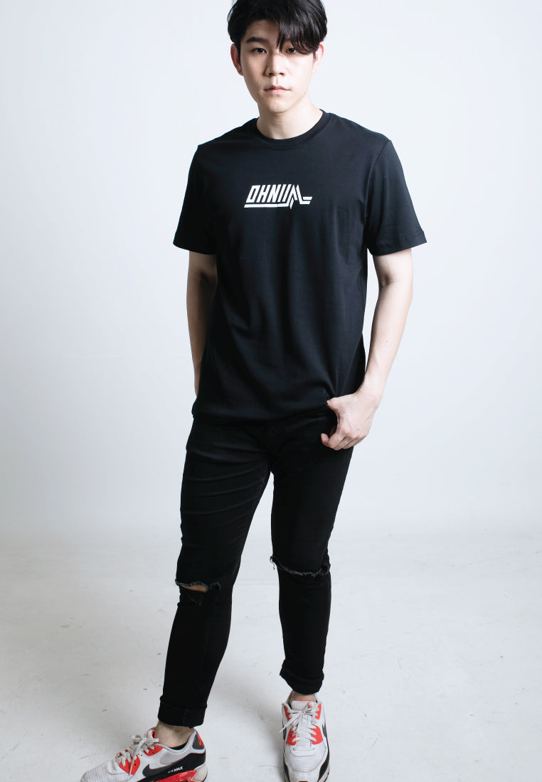 LOGO M PRINT COTTON JERSEY T-SHIRT - Ohnii Official Site