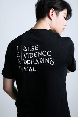 F.E.A.R PRINT COTTON JERSEY T-SHIRT - Ohnii Official Site