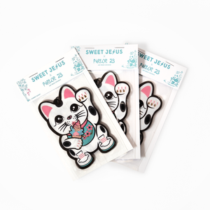 """Stay Fresh Money Cat"" <br>Air Freshener"