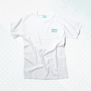 """White BB""  <br>Champion T Shirt"