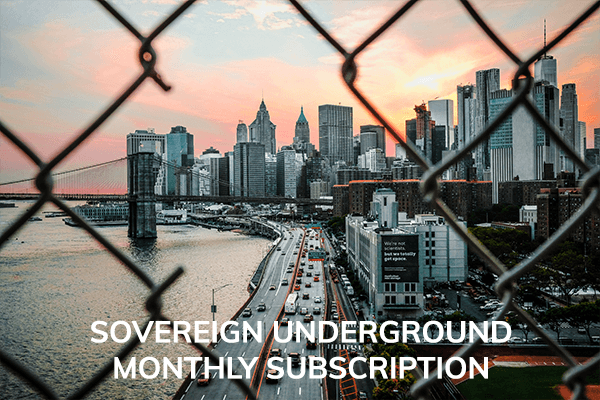 SOVEREIGN UNDERGROUND MEMBERSHIP