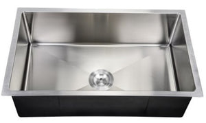 "32 X 19 10"" Deep PerfecFlo Sink small radius sink Eclipse VSR3219"