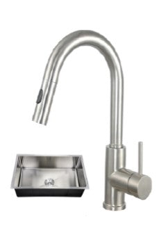 32X19 PerfecFlo™ Sink and a Windsor Faucet