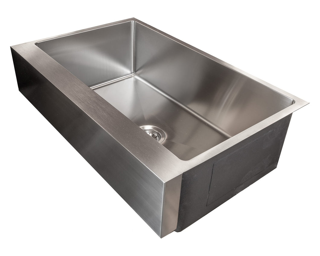 FSR3321APF-7 PerfecFlo™ Apron Front / Farmhouse Small Radius Sink (FOR EXISTING CABINETS) FREE $106 Grid Mfg Direct Price