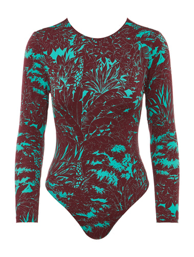 MB119 Paradised Surf Suit One Piece