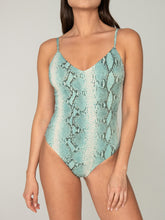 Spaghetti Straps One Piece