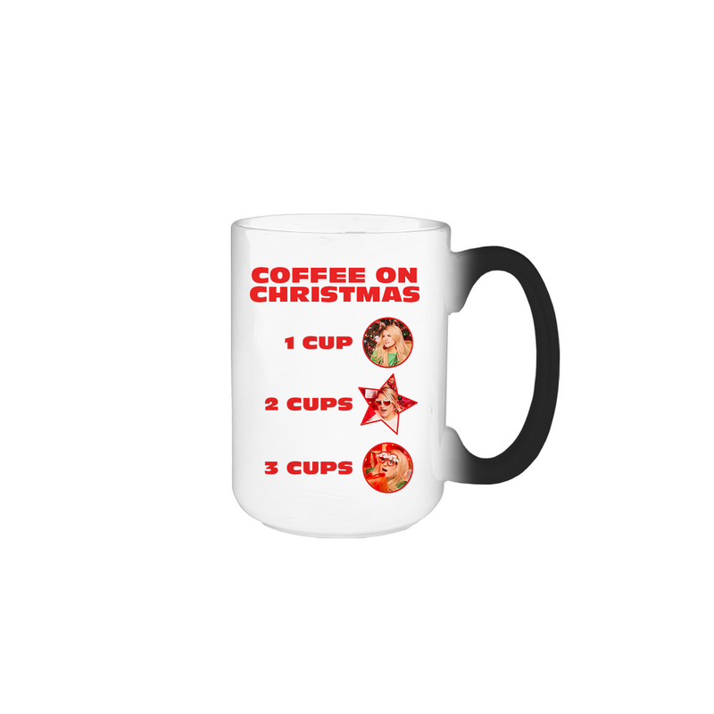 COFFEE ON CHRISTMAS MUG