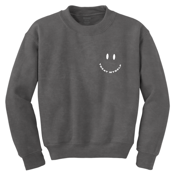 TREAT MYSELF SMILE CREWNECK - Meghan Trainor