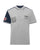 Hackett Mens Aston Martin 95 Contrast Polo Shirt Heather Grey Navy Designer Outlet Sales Luxury Couture Clearance