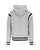 Ralph Lauren Mens Arch USA Shoulder Stripe Hoodie Heather Grey Designer Outlet Sales Luxury Couture Clearance