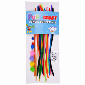 Fun Craft Pencil Topper Kit