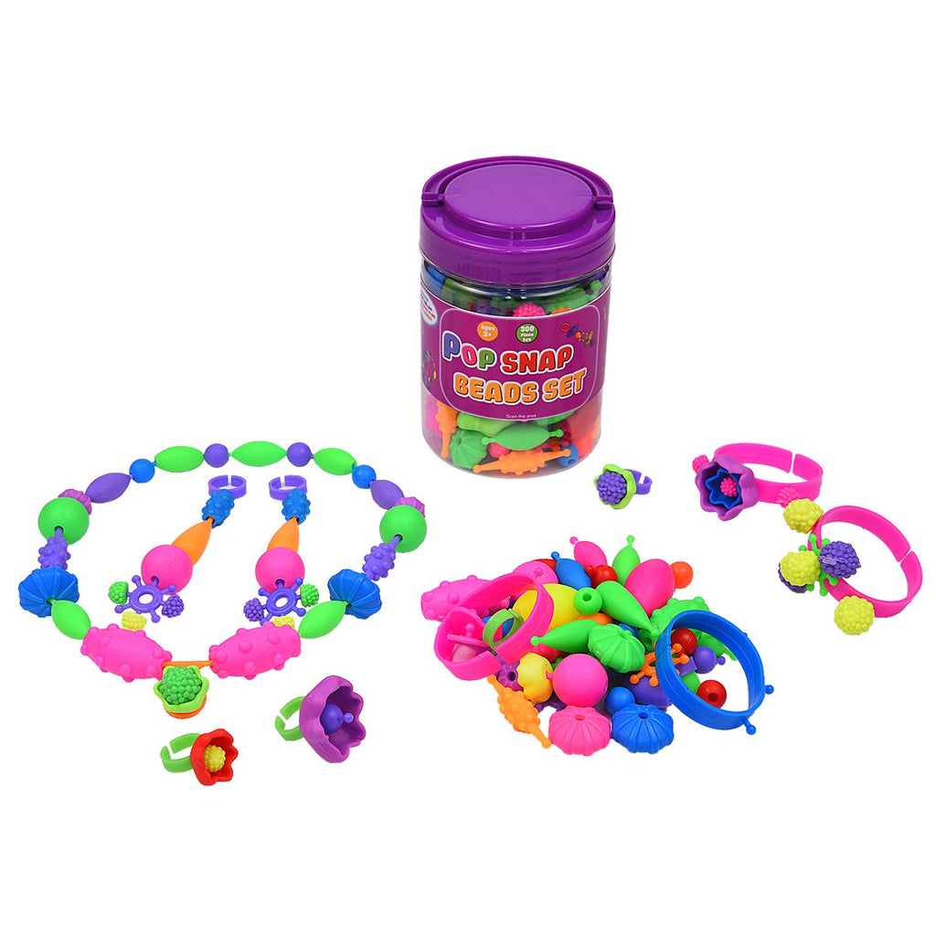 Pop Snap Bead Set