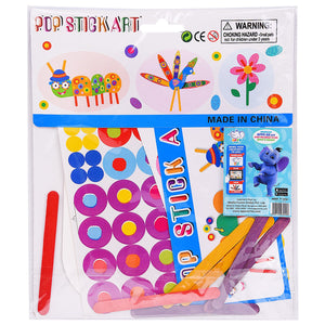 Pop Stick Art - Pack of 3 Designs