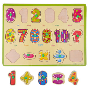 Appu Wooden 123 Puzzle