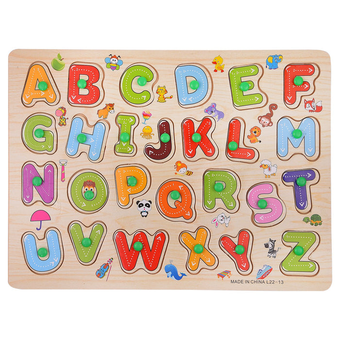 Appu Wooden Capital ABC Puzzle