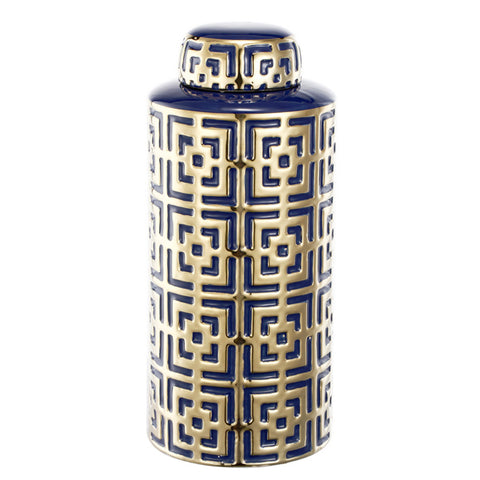 GEO TEMPLE JAR - Boutique Furniture Direct