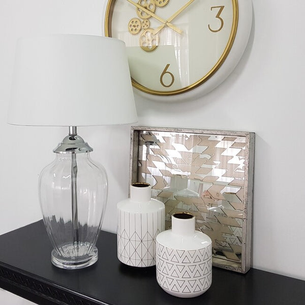 ADDISON TABLE LAMP WHITE