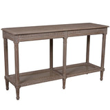 POLO LONG CONSOLE - OAK WASH - Boutique Furniture Direct