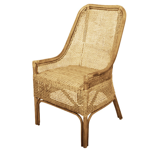 BRUNCH RATTAN CHAIR - NATURAL - Boutique Furniture Direct