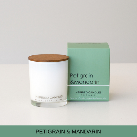 PETIGRAIN & MANDARIN CANDLE - Boutique Furniture Direct