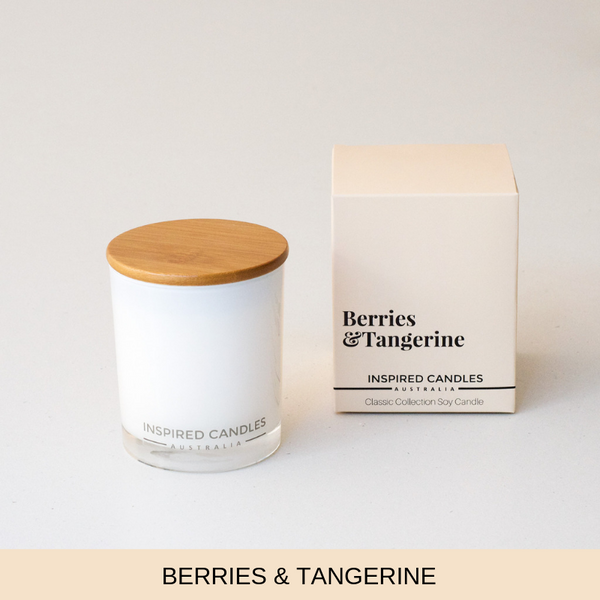 BERRIES & TANGERINE CANDLE - Boutique Furniture Direct