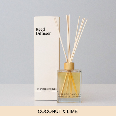 COCONUT & LIME REED DIFFUSER - Boutique Furniture Direct