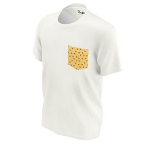 Mustard pizza tshirt for women