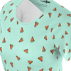 Funny green t shirt with watermelons pattern for women and ladies