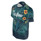 Tropical leafs with Crafteo logo for men/women
