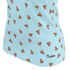 Funny blue t shirt with watermelons pattern for women and ladies